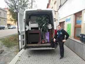 Stěhování malého bytu - Plzeň