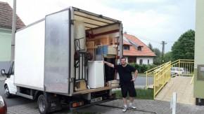 Přestěhování většího bytu - Plzeň