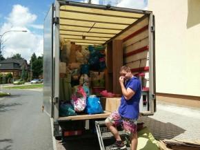 Stěhování 4členné rodiny z Plzně do Nepomuka