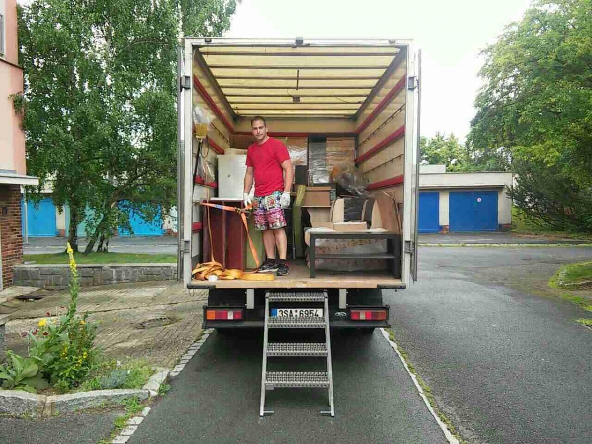 Stěhování po Plzni